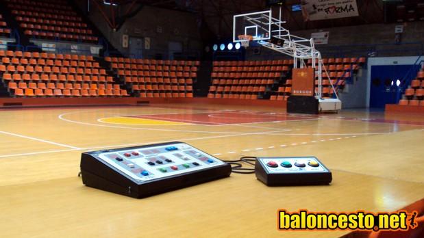 Visión del anotador, cronometrador y operador de baloncesto